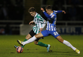 Hartlepool United v Blyth Spartans AFC - FA Cup Second Round