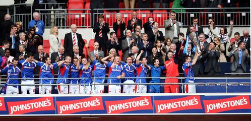 Brentford v Carlisle United Johnstone's Paint Trophy Final