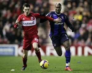 Middlesbrough v Sunderland Barclays Premier League