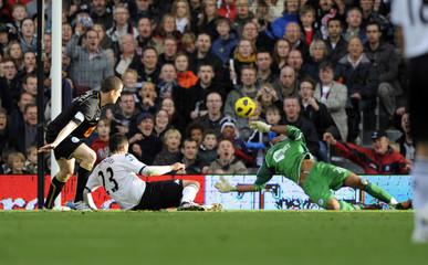 Fulham v Wigan Athletic Barclays Premier League