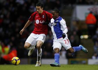 Blackburn Rovers v Fulham Barclays Premier League