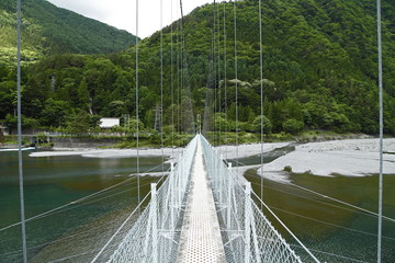 塩見橋(奈良田湖:早川町)