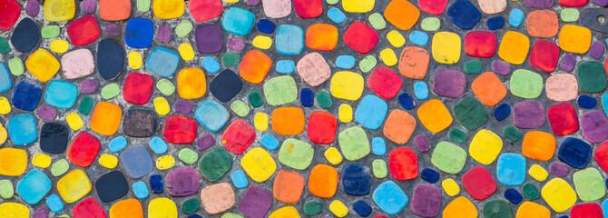 Colorful floor Wall mural