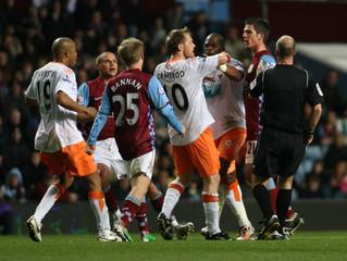 Aston Villa v Blackpool Barclays Premier League