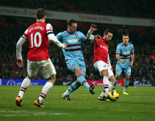 Arsenal v West Ham United - Barclays Premier League