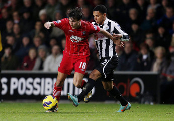 Southampton v Newcastle United - Barclays Premier League