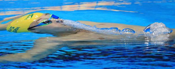 Swimming - Men's 200m Backstroke - Heats