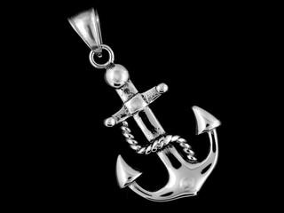 Pendant Necklace Anchor