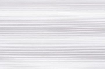 Striped halftone wavy white paper texture, abstract background.