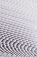 Fototapete - Striped gradient white texture paper, abstract background.