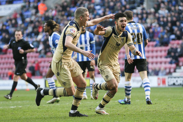 Wigan Athletic v Leeds United - Sky Bet Football League Championship