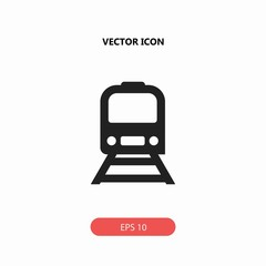 underground train vector icon