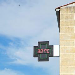 Indication de température extérieure