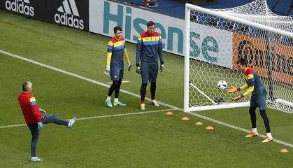 Romania Training - Euro 2016
