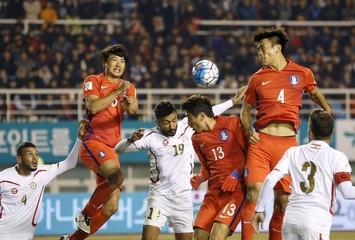Football Soccer - World Cup 2018 Qualifier - South Korea v Lebanon