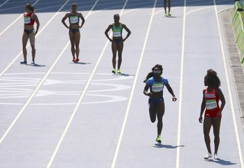Athletics - Women's 4 X 100m Relay Round 1