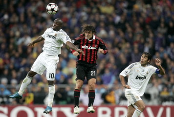 Real Madrid v AC Milan UEFA Champions League Group Stage Matchday Three Group C
