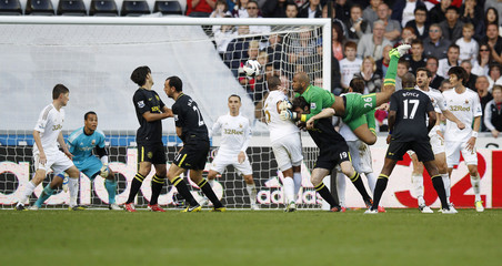 Swansea City v Wigan Athletic - Barclays Premier League