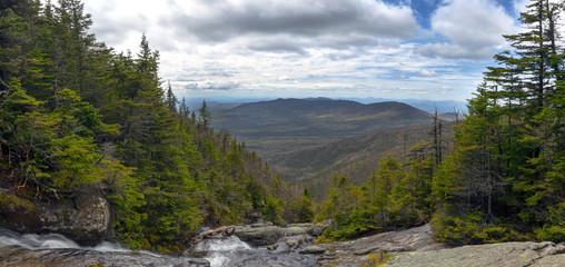 View from Ammonoosuc ravine trail at Mount Washington