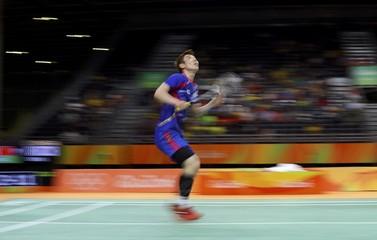 Badminton - Men's Singles Quarterfinals