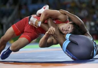 Wrestling - Men's Freestyle 57 kg Quarterfinal