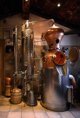 Distillery in Mayrhofen. Austria