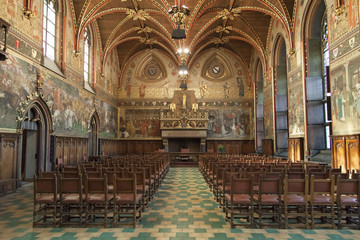 Interior of the Bruges City Hall