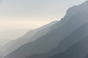 Hills in Pyrenees Wall mural