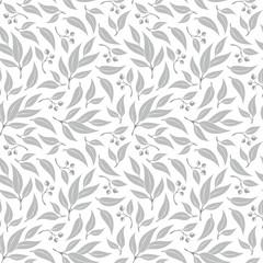 Seamless  eucalyptus  leaf pattern.