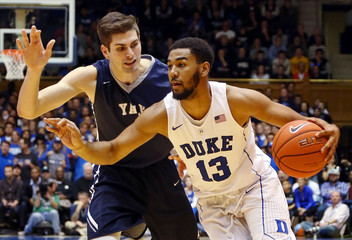 NCAA Basketball: Yale at Duke