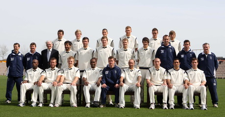 Hampshire CCC Team Group