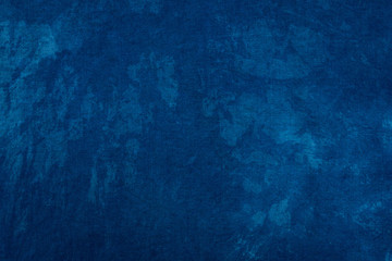 Blue dye indigo background