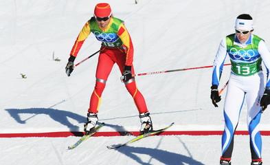 CANADA-WHISTLER-CROSS-Canada SKIING-WOMEN'S TEAM SPRINT FREE