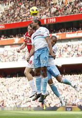 Arsenal v West Ham United Barclays Premier League