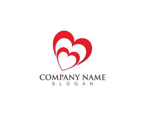 Love Logo Vector Template
