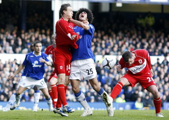 Everton v Middlesbrough FA Cup Quarter Final