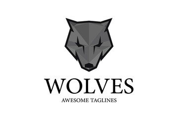 Wolves Logo The Wolf Logo design Vector Illustration