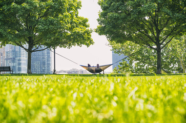 Descansando en la Hamaca / Resting in the hammock