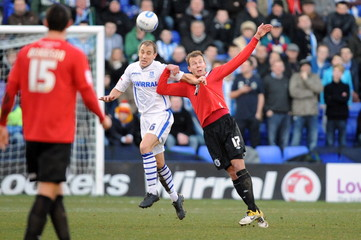 Tranmere Rovers v Huddersfield Town npower Football League One