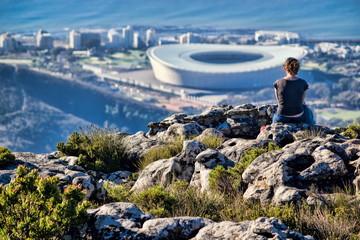 Kapstadt, Blick vom Tafelberg