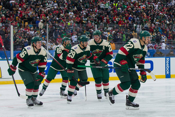 NHL: Stadium Series-Chicago Blackhawks at Minnesota Wild