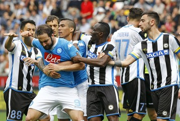 Football Soccer - Udinese v Napoli - Italian Serie A