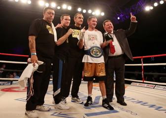 Lenny Daws v Ville Piispanen European Light-Welterweight Title