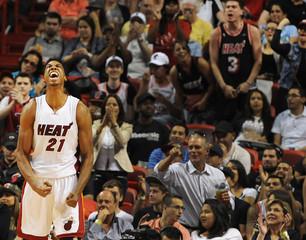 NBA: Detroit Pistons at Miami Heat