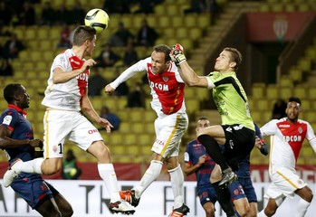 Monaco v Ajaccio - French Ligue 1 - Louis II stadium