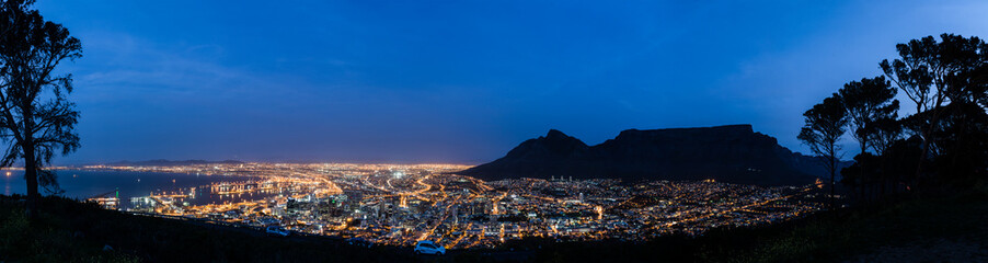 Cape Town at night Fototapete