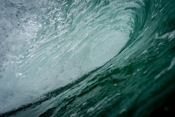 Por dentro da onda, Grumari - Rio de Janeiro