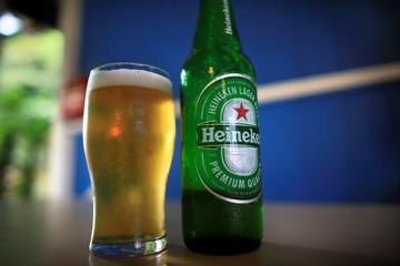 Illustration photo of Heineken lager beer in Singapore