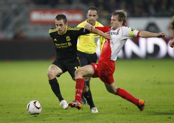 FC Utrecht v Liverpool UEFA Europa League Group Stage Matchday Two Group K