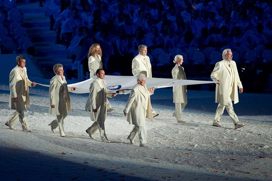 OLYMPICS: FEB 12  The Opening Ceremony of the XXI Olympic Winter Games
